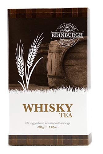 Edinburgh Tea & Coffee Company Whisky Flavoured Tea, 25 Count Teabags