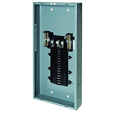 Square D by Schneider Electric QO330L200G QO 200 Amp 30-Space 30-Circuit 3-Phase Main Lug Load Center with Ground Bar, ,