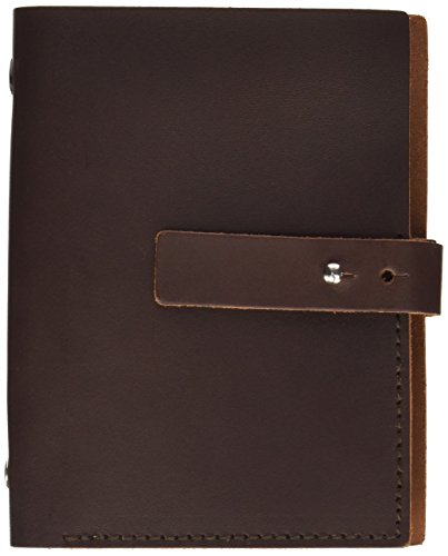 Makro Paper S5-HN - Agenda de piel pequeña, marrón oscuro ...