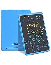 Lcd-schrijftablet, 11 inch elektronische schrijf- en tekenplank, uitwisbare herbruikbare doodle-pad-tablet voor kinderen en volwassenen thuis, op school, op kantoor (blauw)