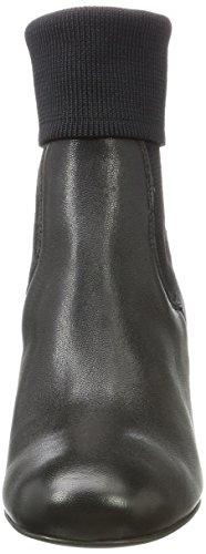 Fred de la Bretoniere Ankle Boot Kurzschaft Stiefel, Stivali Donna Nero (Black 0004)