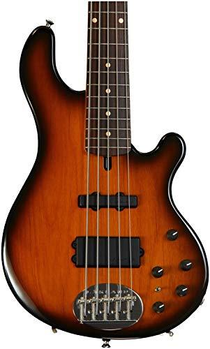 Lakland USA Series 5514-R-TOS 5-String Bass Guitar, Tobacco Sunburst