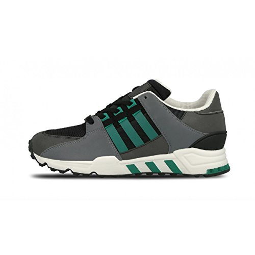 Adidas Originals Equipment Running Support, Core Black-Sub Green-Chalk White, 7