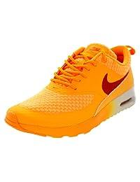 Nike Women's Air Max Thea Prm Atmc Mng/Slr Orng/Mtllc Slvr/W Running Shoe 8 Women US