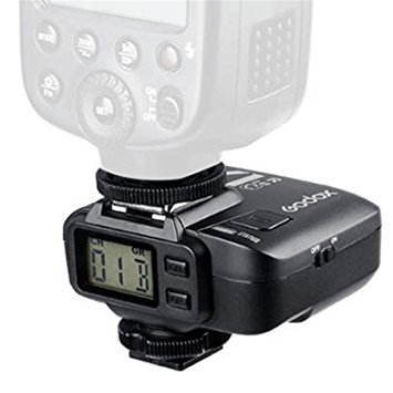 Godox 2.4GHz X1R-N Wireless Hot Shoe Flash Trigger Receiver D70/D70S/D80/D90/D1200/D300/D300S/D600/D700/D750/D800/D810/D3000 Series/D5000 Series/D7000 Series for Nikon DSLR (Wireless Hot Shoe Flash)