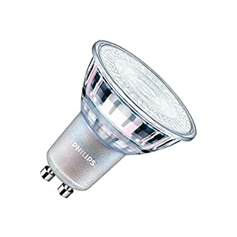 Bombilla LED GU10 Regulable CorePro MAS spotMV 3.5W 60° Blanco Neutro 4000K efectoLED: Amazon.es: Iluminación