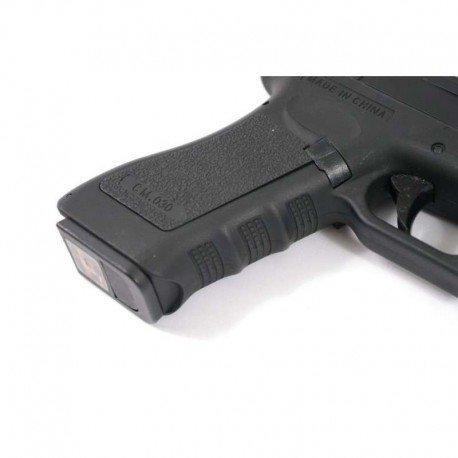 CYMA Airsoft G18 Pistolet Electrique Automatique Cm030 (0.5 Joule) Noir Culasse Métal 3
