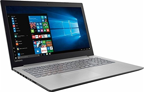 Lenovo Ideapad 15.6 HD High Performance Laptop (2017 ), AMD A12-9720P Quad core processor 2.7GHz, 8GB DDR4, 1TB HDD, DVD, Webcam, WiFi,Bluetooth, Windows 10, Platinum gray