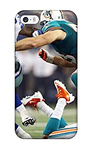 Hot 4070194K112857329 dallasowboys miamiolphins NFL Sports & Colleges newest iPhone 5/5s cases