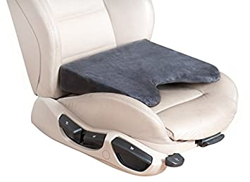 Matex 701 Premium Car Seat Cushion Gray Foam Wedge For Back Pain Support
