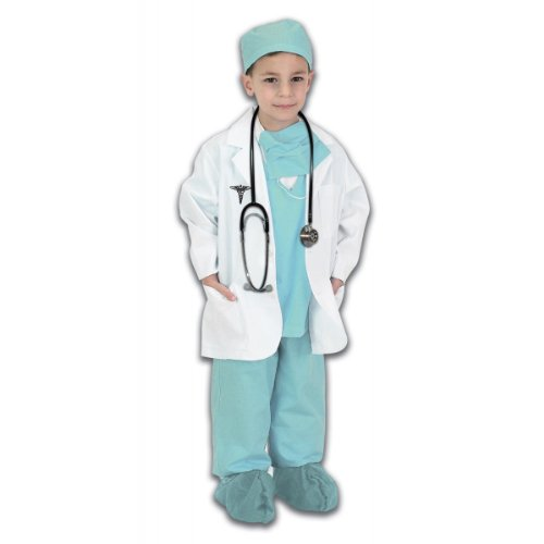 Jr. Physician Kids Costume Green -