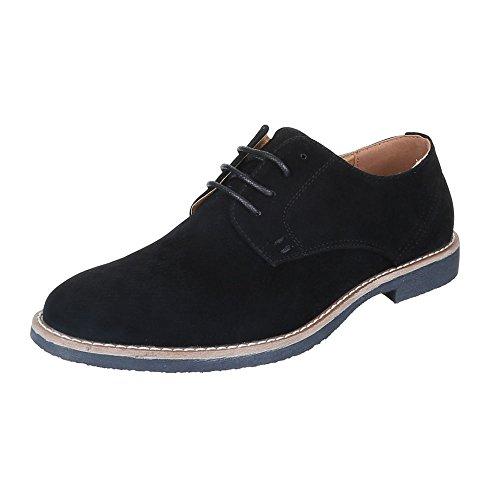 Ital-Design - Zapatos Planos con Cordones Hombre: Amazon.es: Zapatos y complementos