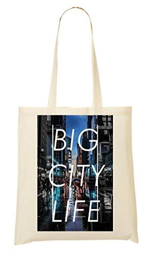 Go NY   Life   Series   New York Town   Popular Words   Osom Quotes   Cool T Shirt   Nice To   Super   Beautiful Landscape Bolso De Mano Bolsa De La Compra