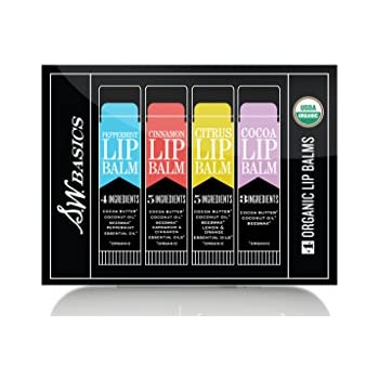 Amazon.com: S.W. Basics Lip Balm Flight, Dry or Chapped