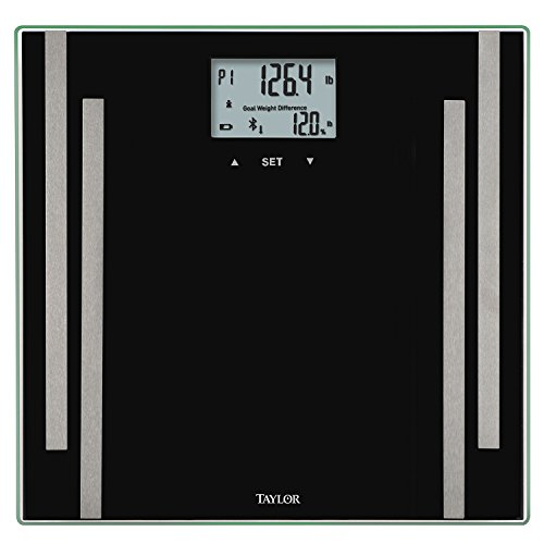 Taylor Bluetooth Smart Scale, Black by Taylor