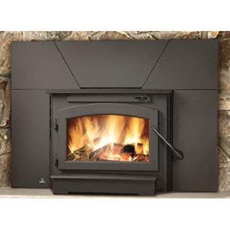 Timberwolf Economizer EPA Wood Burning Fireplace Insert (Fireplace Blower Burning Wood)