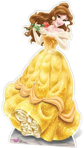 Star Cutouts SC560 Belle Cardboard Cut Out by Disney Princess by Disney Princess