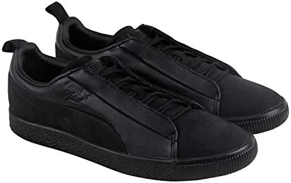 newest fbbb1 24b48 PUMA Unisex Puma x Naturel Clyde Fashion Sneaker Puma Black ...