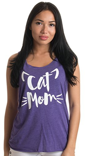 Cat Mom | Cute, Silly Cat Lady Humor - Kitty Ladies' Triblend Racerback Tank