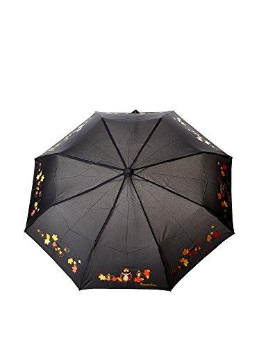 Braccialini Paraguas  Negro / Amarillo / Naranja