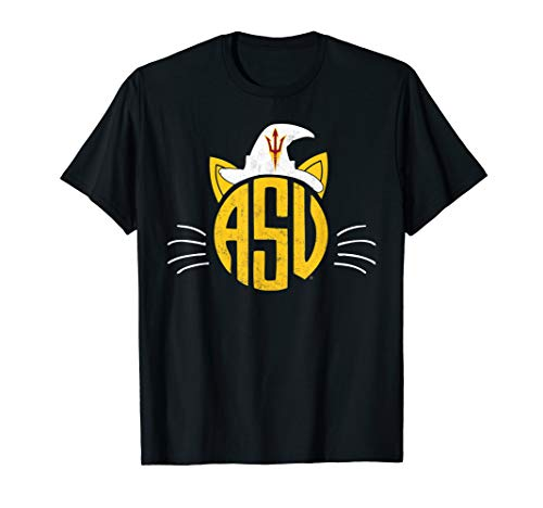 Arizona State Sun Devils Cat Face Halloween T-Shirt ()