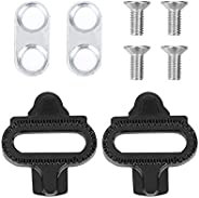 Bicycle Pedal Cleats SPD, 100% Steel for Bicycle Shoes Cleats Pedal