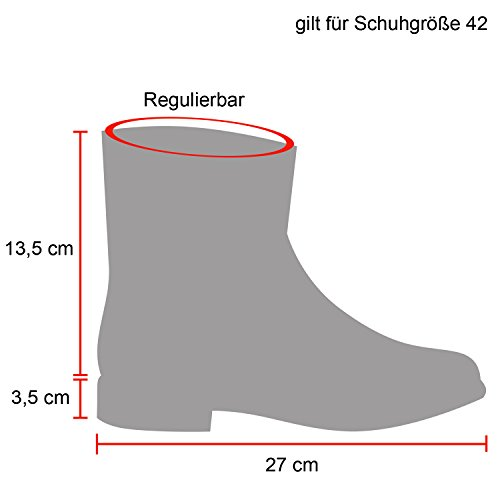 Total Femme Rangers Bottes Stiefelparadies Schwarz B7qH674n