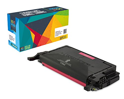 Do it Wiser ® Compatible Magenta Toner for Samsung CLP-620 CLP-620ND CLP-670N CLP-670ND CLX-6220FX CLX-6250FX CLT-M508L- Yield 4,000 pages