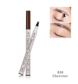 Amazon Com Eyebrow Pencil Waterproof Fork Tip Eyebrow Tattoo Pen 3