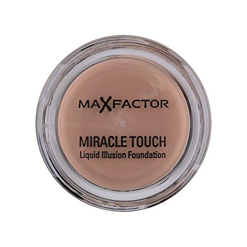 マックスファクターの奇跡のタッチ基盤の自然70 x2 - Max Factor Miracle Touch Foundation Natural 70 (Pack of 2) [並行輸入品] B072HJ7118