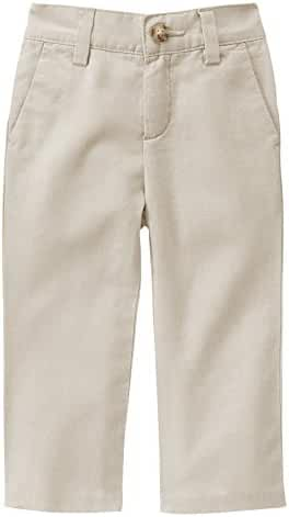 Gymboree Baby Toddler Boys' Light Khaki Linen Pants