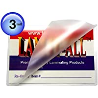 Double Letter Laminating Pouches 3 Mil 11-1/2 X 17-1/2 Laminator Sleeves Qty 100 by LAM-IT-ALL