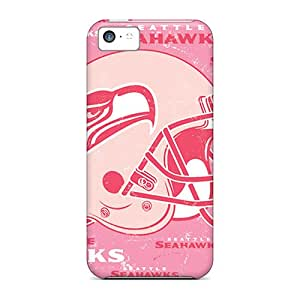 ZmV4730jwYY Snap On Cases Covers Skin For Iphone 5c(seattle Seahawks)