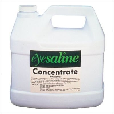 Fendall Porta Stream I, II, III Emergency Eye Wash Station Premixed Saline Solution Refill, 1 Gallon/3.78 L (4 Per Case)