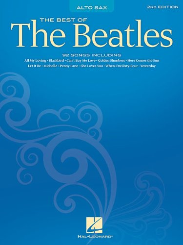 Sax Saxophone Sheet Music Book (Best of the Beatles: Alto Sax)