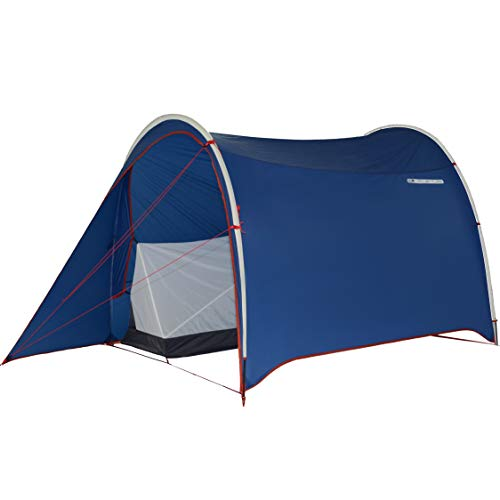 DL Adventure Dromedary Patent Motorcycle Tent, Lightweight/Small Pack Size, Ventilated/Waterproof/UV-Resistant/CPAI84 Certified Durable Fabric Rainfly Tent, Detachable 1-Person Mesh Inner Tent