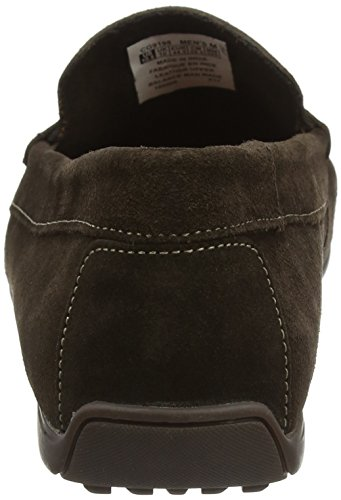 Lace Purposeorts Rockport Mocasines Rockstyle Brown Hombre Up Five Lite Marrón Dark para wqnfI54