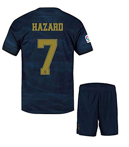Eden Hazard ##7 2019-20 Real Madrid Away Master Quality Jersey with Shorts/LA LIGA Patch/Club World Cup Logo Price & Reviews