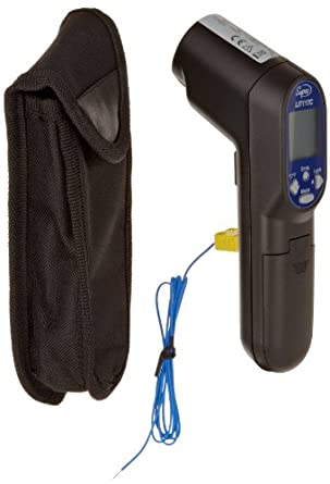 Supco LIT11TC Laser Infrared Thermometer With Probe 60 To 700