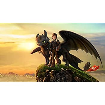 Amazon.com: How to Train Your Dragon Movie Poster: Posters & Prints
