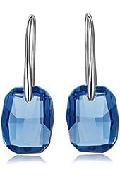 Qianse *Venice Dreamland* Fantastic Drop Dangle Earrings Made with SWAROVSKI Crystal, Women Jewelry
