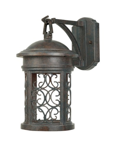 Designers Fountain 31111-MP Ellington-DS Wall Lanterns, Mediterranean Patina
