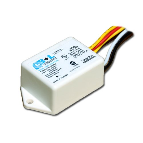 B+L NU6-1128-PSX/E 120v electronic ballast for multiple CFL and linear fluorescent lamps by B+L Transformer