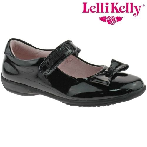 12 Kelly Perrie uk Width db01 Black Lk8206 31 F Shoes Patent School 5 Lelli Fwx6F