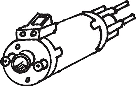3 12vdc Gear Motor Double Shafted Shaft Spins At 2500 Rpm Includes