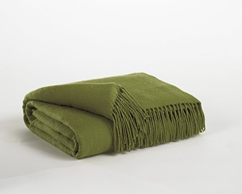 Ashley Single Bed - Ashton Lime Throw (Single)