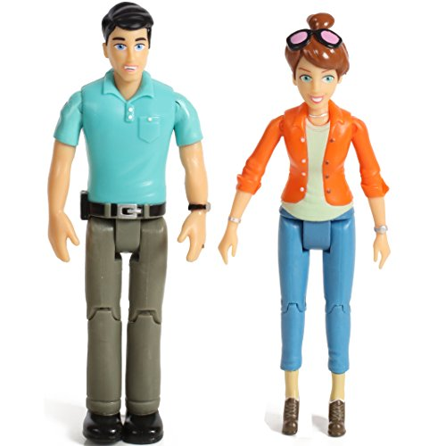 - Beverly Hills Doll Collection TM Sweet Li'l Family Set of 2 Action Figure Set- Mom and Dad
