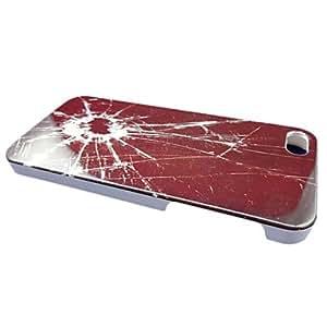ZXM- Broken Glass Design Case para el iPhone 5