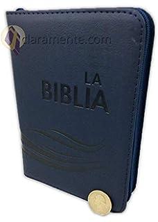 La Biblia Traducción Lenguaje Actual TLA con cierre, tamaño compacta (pequena), imitación