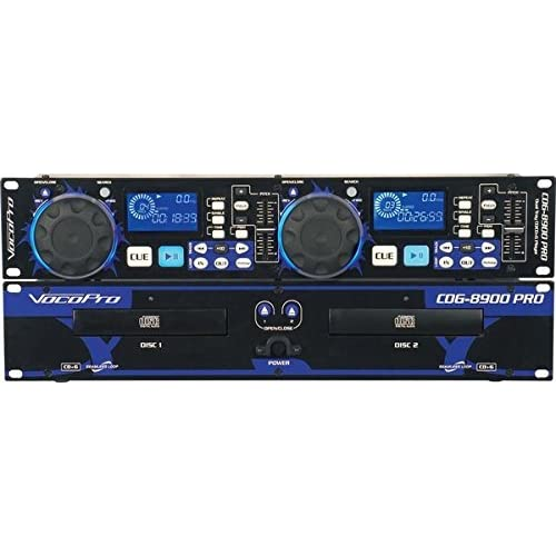 Image of CD Players VocoPro CDG-8900 PRO Professional Dual Tray CD/CD+G Player